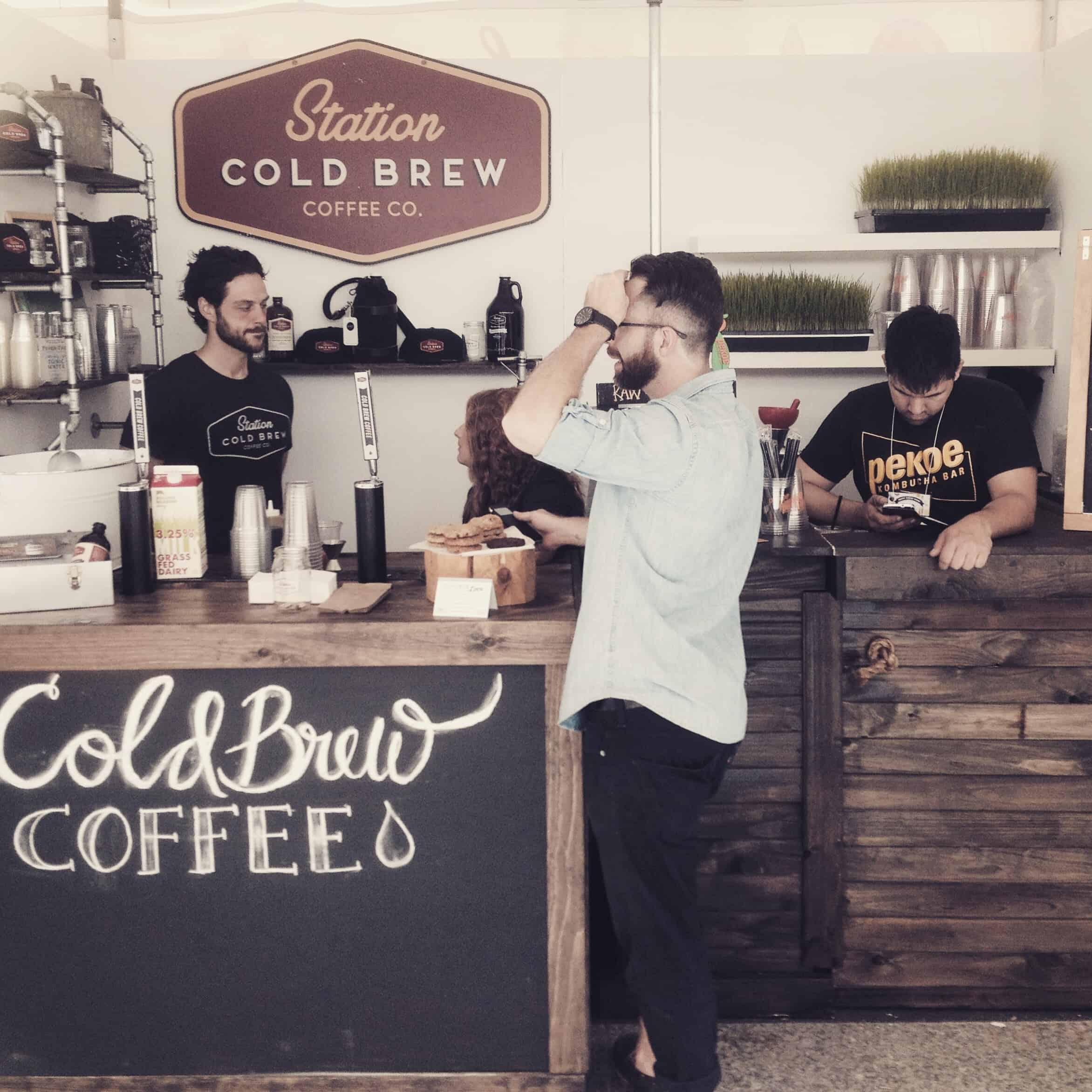 #FrontStreetFoods Meet The Makers: Station Cold Brew