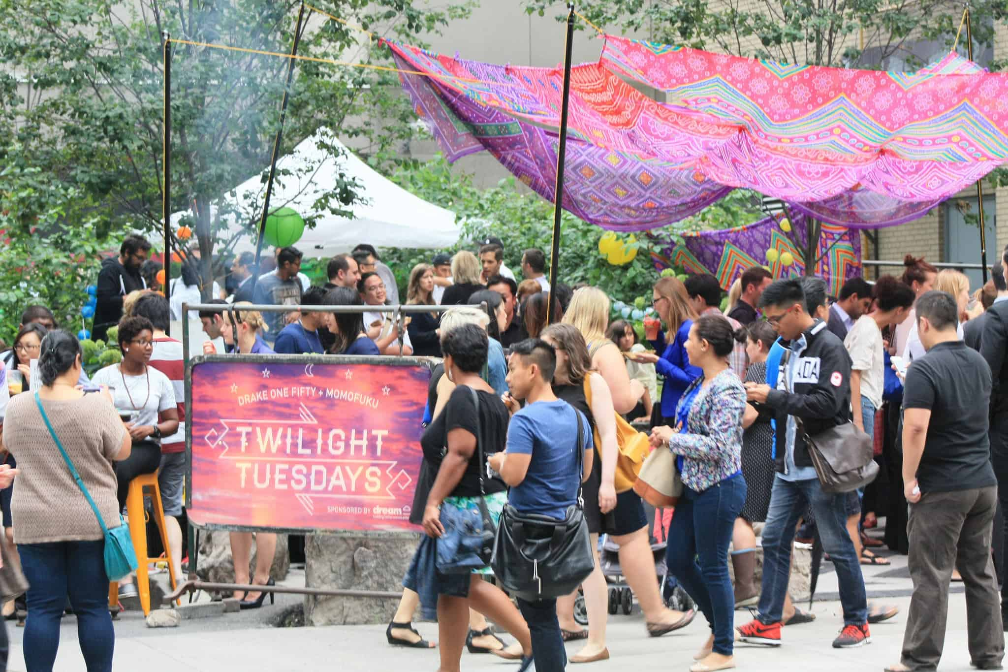 Twilight Tuesdays Returning to the York Street Parkette