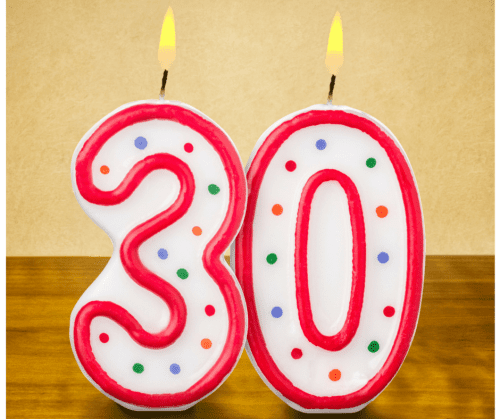 What happens to your digestion when you turn 30