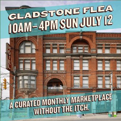 gladstone july flea