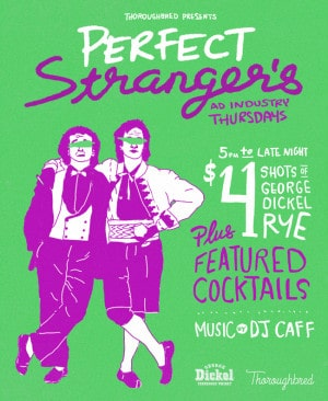 Toronto Hit List: Perfect Strangers, Body Electric, Beam Me Up Disco, Birdbath & more!