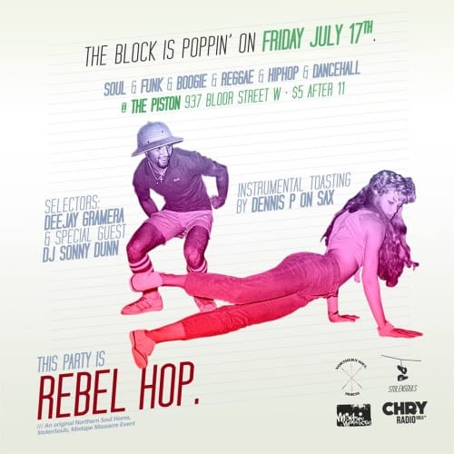Toronto Hit List: Rebel Hop, Shadows of Motown, Rhum Punch, I'm Going Downstairs & more!