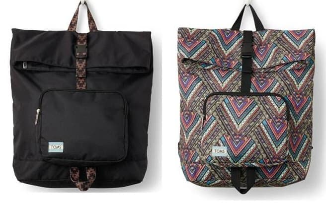 TOMS launches anti-bullying backpack collection