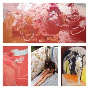 Katie Bond Pretti: Oil Stick Satisfaction and the Female Form