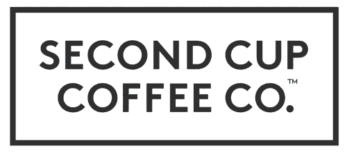 Second Cup White Logo