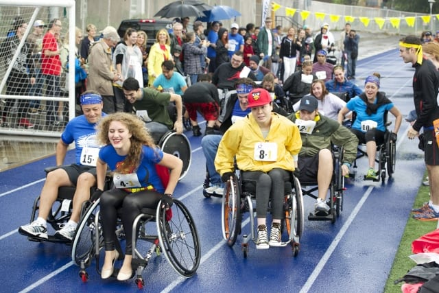September 20th is the Wheelchair Relay Challenge & stROLL Fundraiser for Spinal Cord Injury Ontario