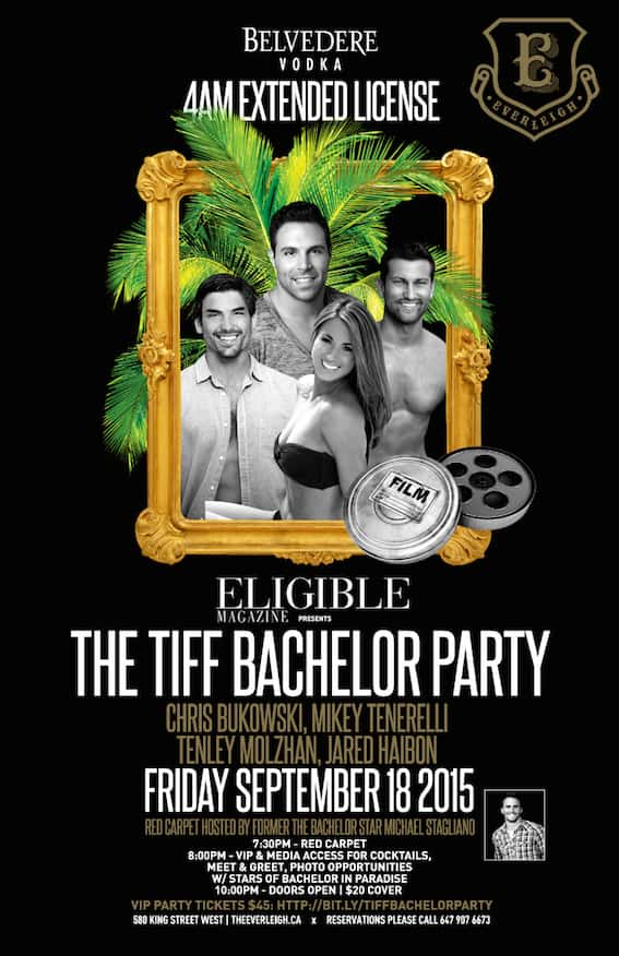 TIFF Eligible Bachelor Party Invite 2015 - resize