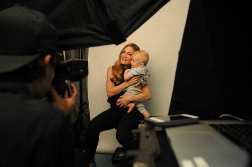 Tara Spencer-Nairn & son, Carson