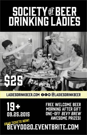 The Society of Beer Drinking Ladies Presents Bevy 0020 September 25