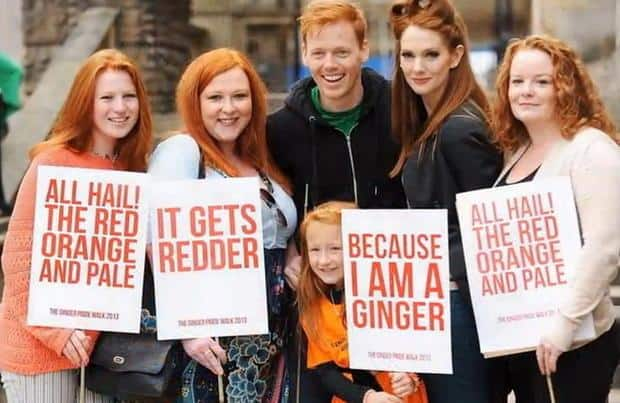 Toronto Gingers Unite for National Redhead Day & Ginger Walk