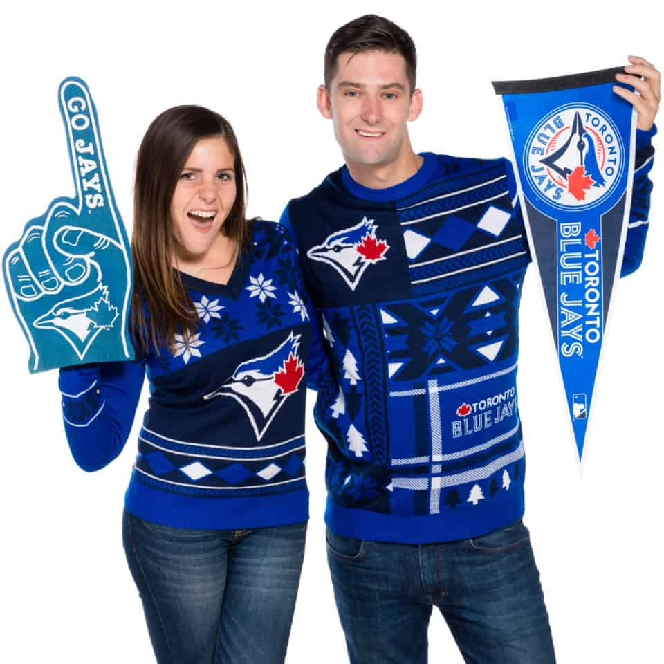 Retro Festive is proud to offer Toronto Blue Jays Ugly Christmas ...