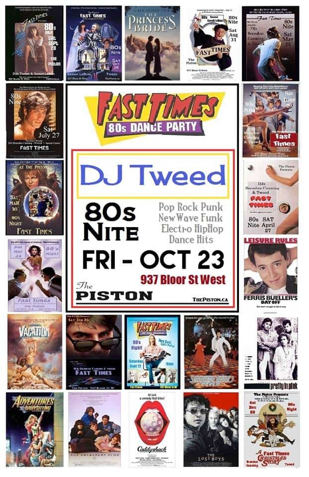 Toronto Hit List: 90s Video Dance Party, Fast Times, F'unreal, In Touch & more!