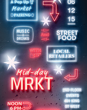 MIDNIGHT MRKT is Back for a Special MID-DAY Holiday Edition