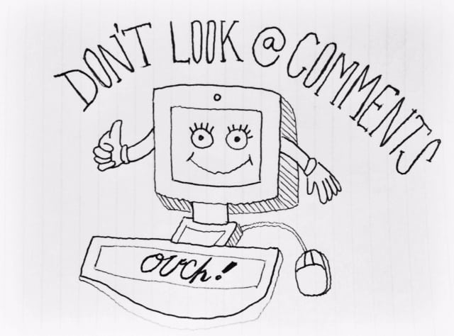 STUFF ON THE INTERNET: HOW TO DEAL WITH NEGATIVE COMMENTS