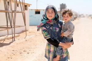 UNICEF connects us with 12-year-old Sidra, who shows us life in a Syrian refugee camp