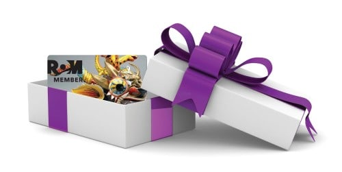 White gift box. Isolated 3D image