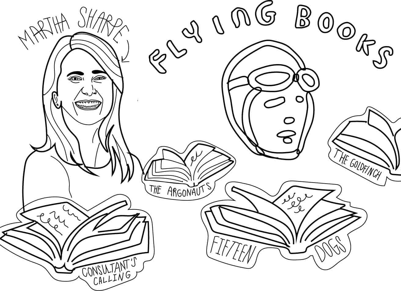 THE MARVELOUS MARTHA SHARPE AND HER FLYING BOOKS
