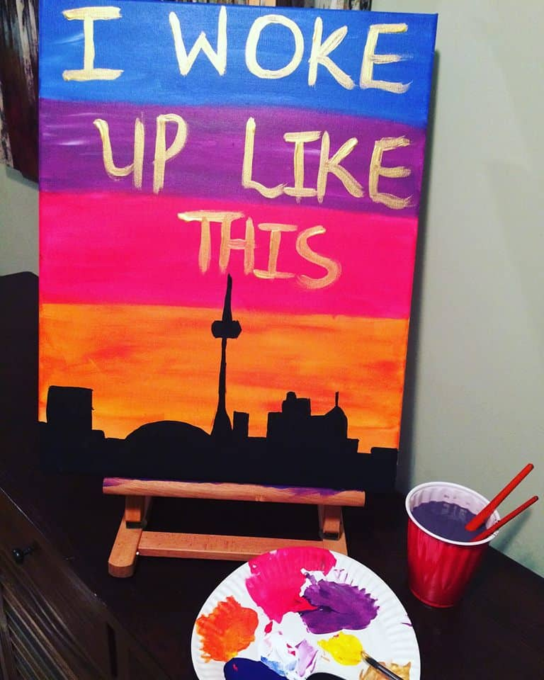 Our Pick of the Week: Beyoncé Sing-a-long Paint and Sip Class