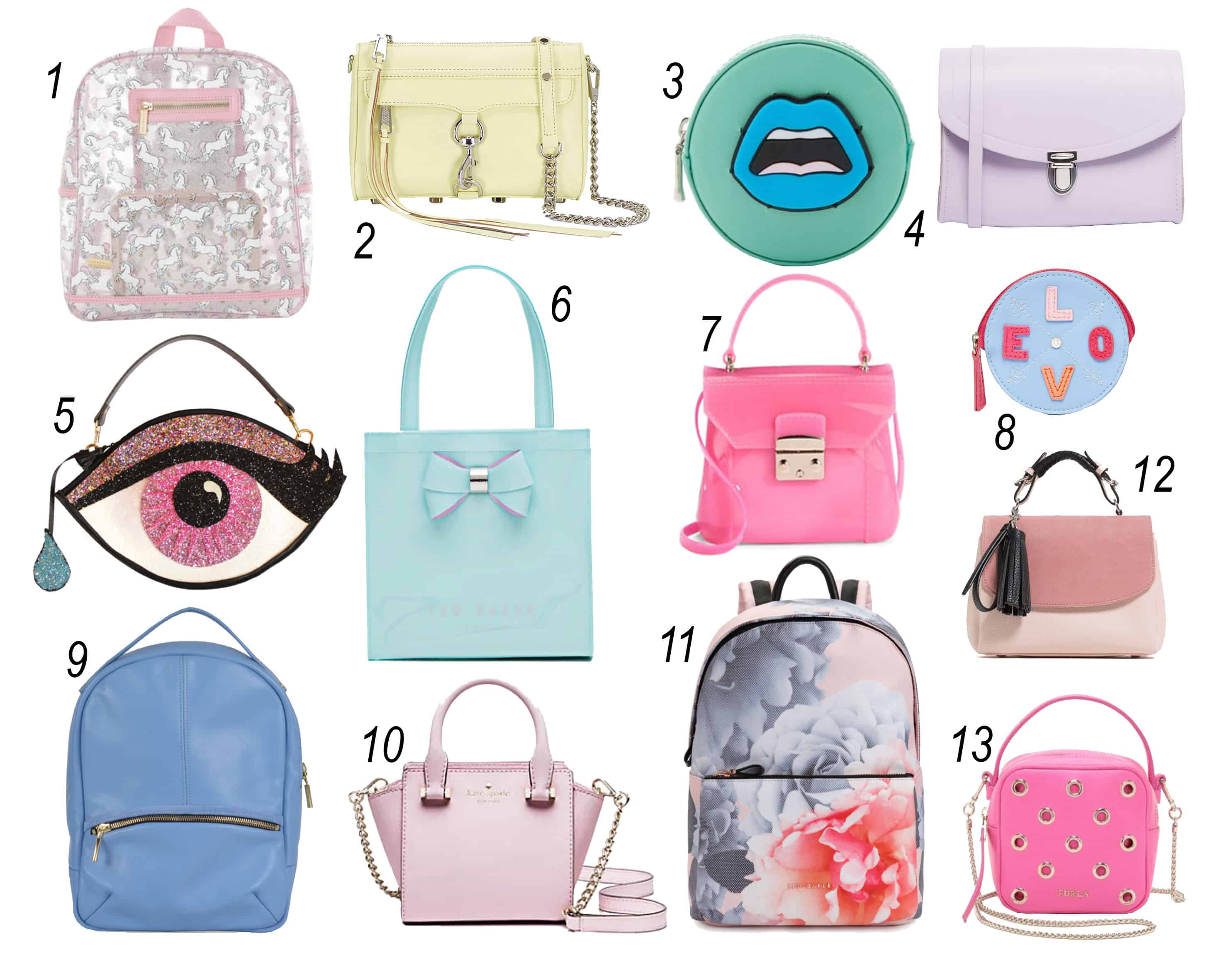797f90e7ff1075 From Ted Baker to Rebecca Minkoff  13 colourful bags we LOVE ...