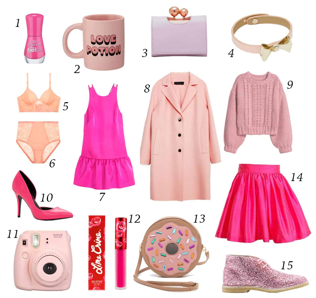 Pink Overload Our Guide To Dressing For Valentine S Day And Beyond Shedoesthecity Fashion