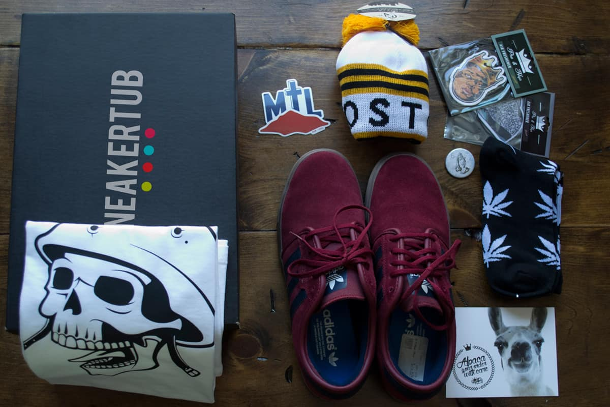Sneakertub: The Sneaker Subscription Box Is Here