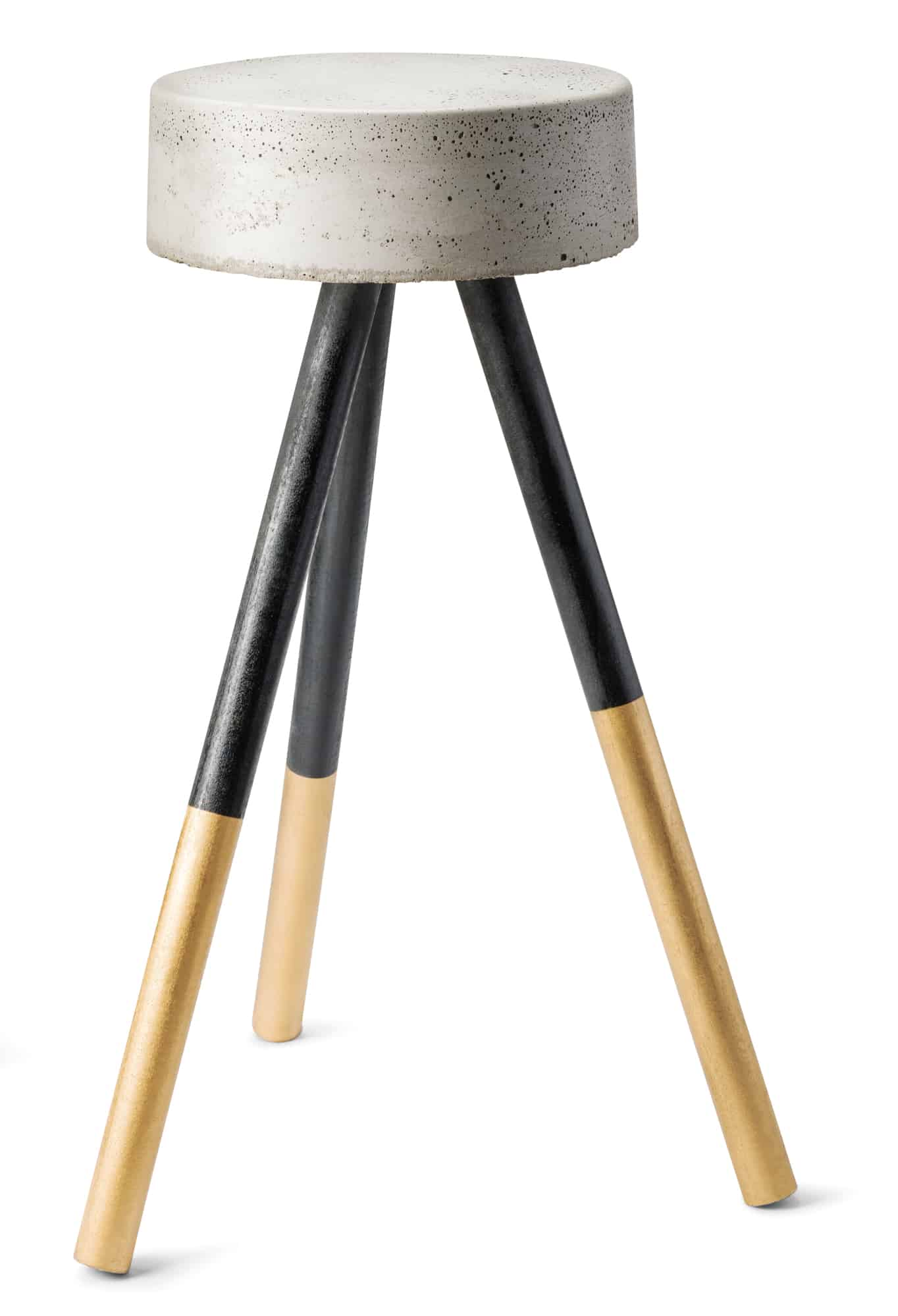 Concrete stool $75 by Allie Croza