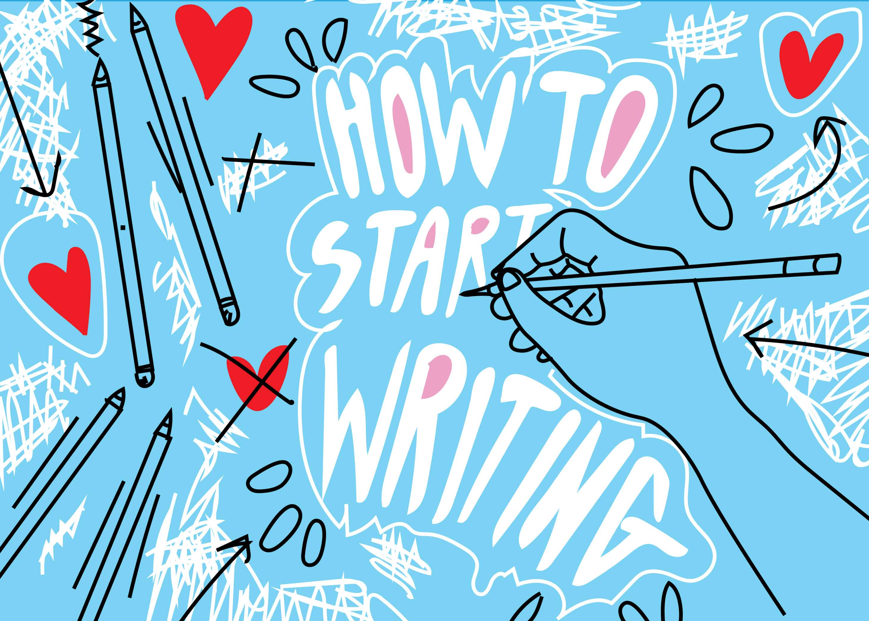 How to start writing 76