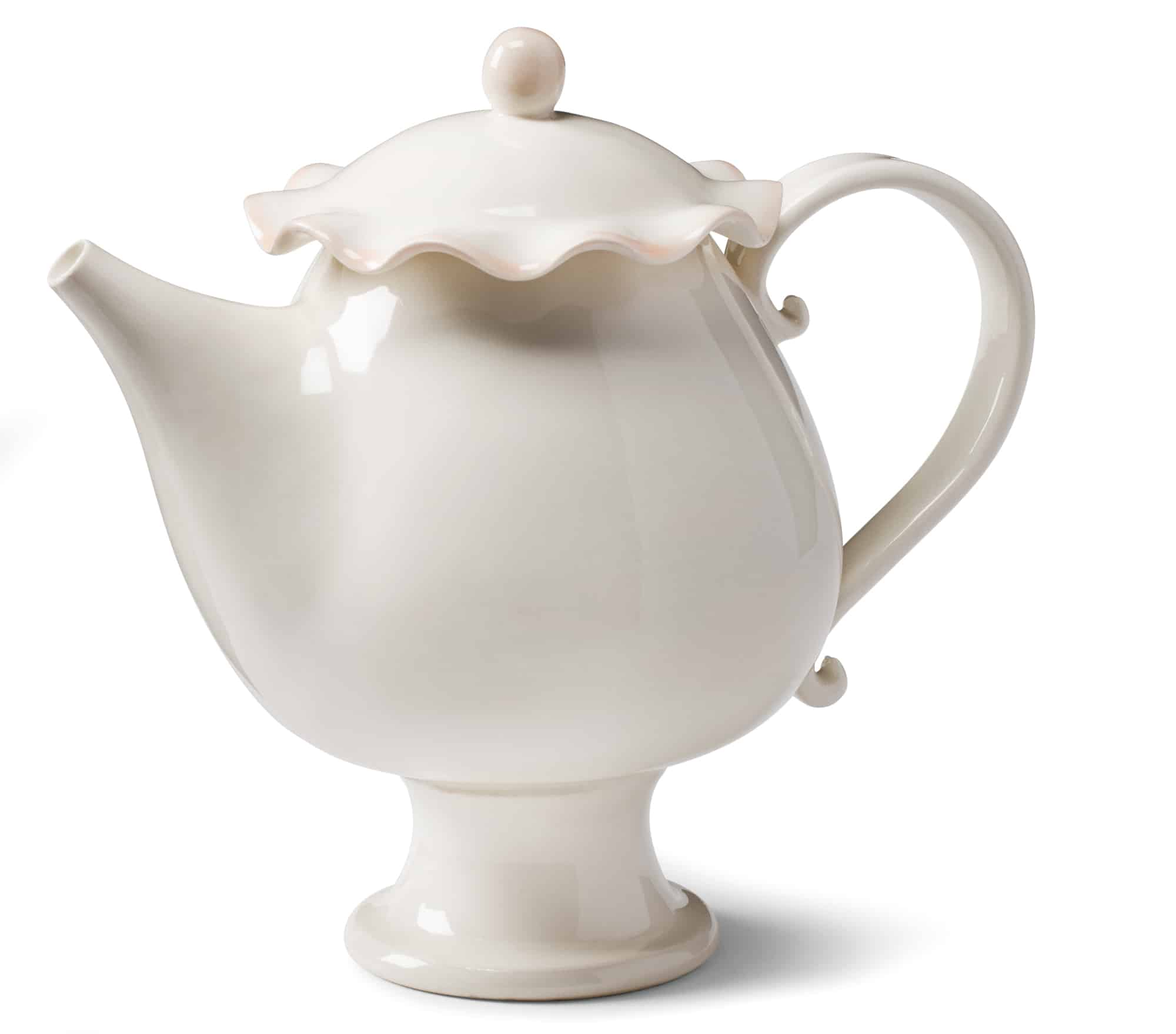 Porcelain tea pot $100 by Stéphanie Goyer-Morin