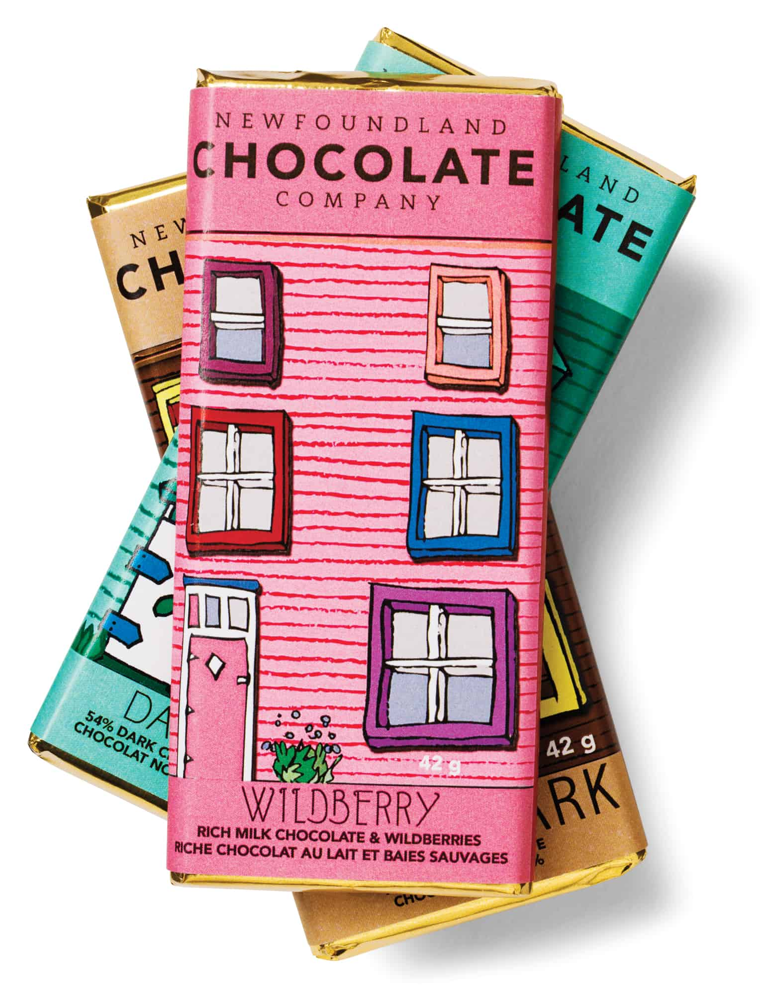 Row house chocolate bars $4.25 each by Christina Dove and Brent Smith