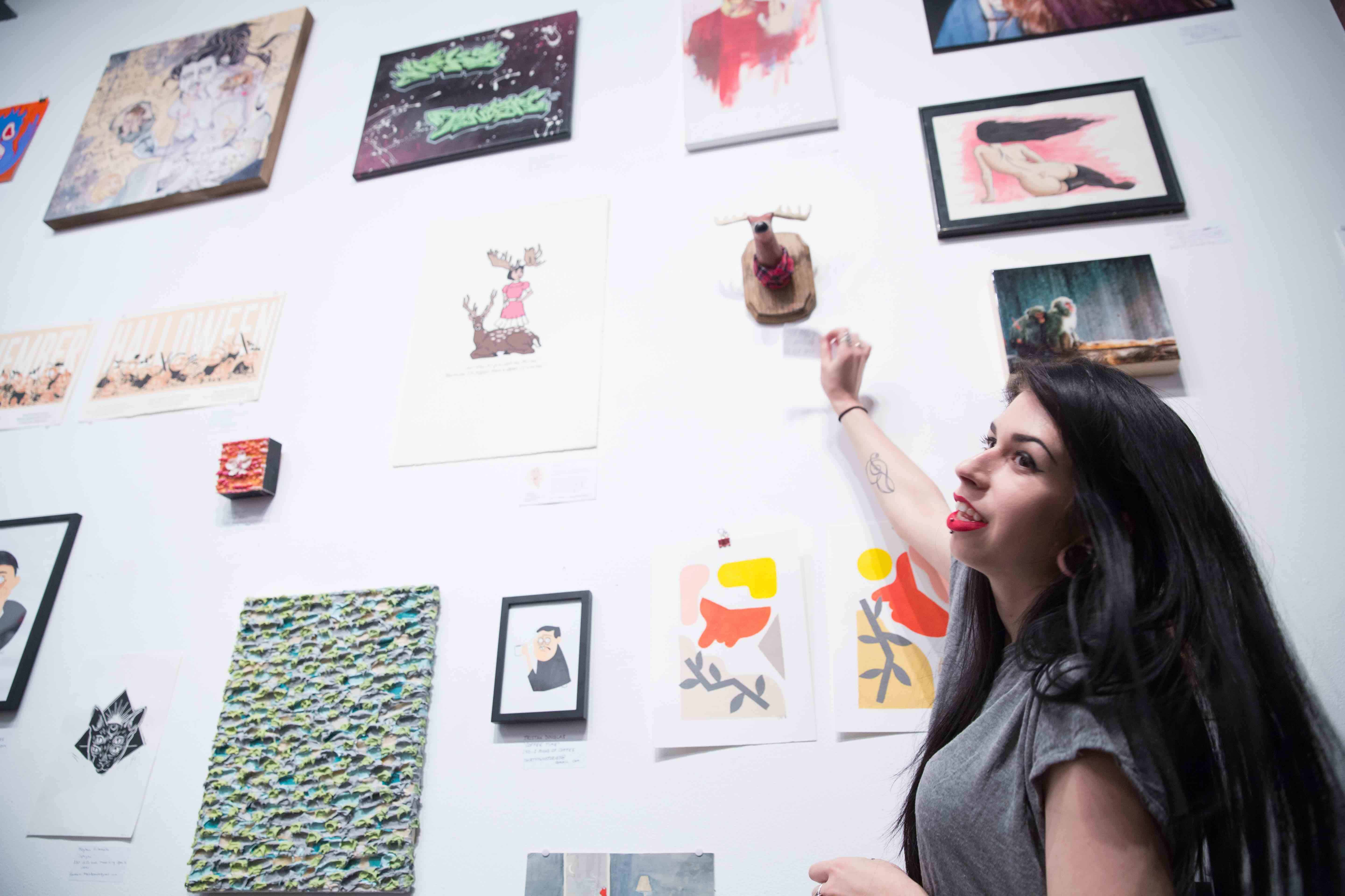 Photo Gallery: Bunz Art Show