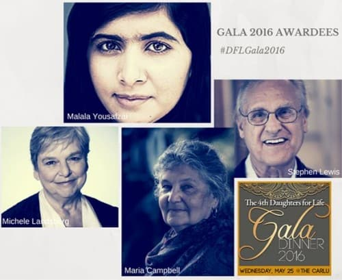 Daughters for Life Honouring Malala Yousafzai