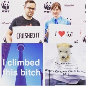 I Climbed the CN Tower for Wildlife and Lived To Tell the Tale