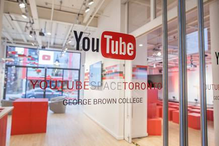 YouTube Space Toronto Opens This Week