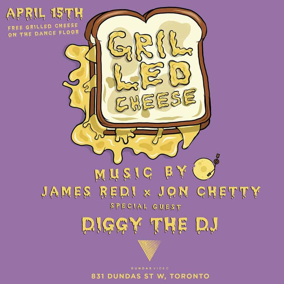 Toronto Hit List: Grilled Cheese, Hip-Hop Karaoke, It's All Good, 90s Video Dance Party & more!