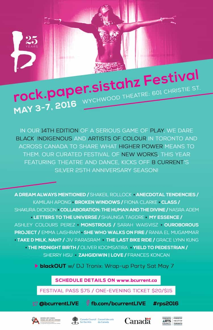 rock.paper.sistahz Festival Coming to Artscape Wychwood Barns This May