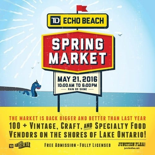 Our Pick of the Week: TD Echo Beach Spring Market