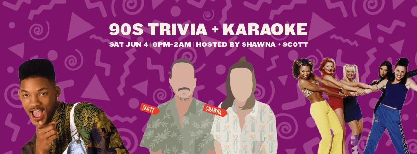 Our Pick of the Week: '90s Trivia & Karaoke