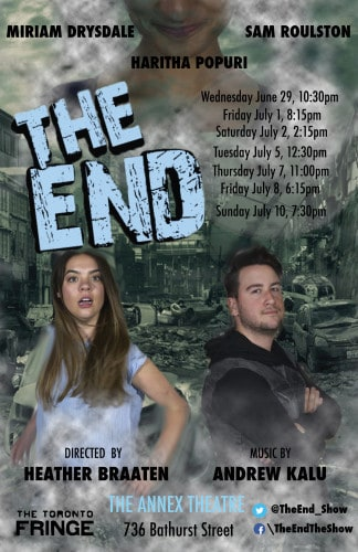On The Fringe 2016: Miriam Drysdale - The End