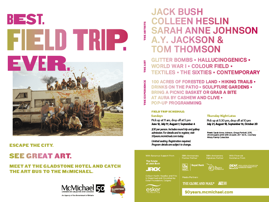 Win a Field Trip to McMichael Gallery in Kleinburg, Ontario