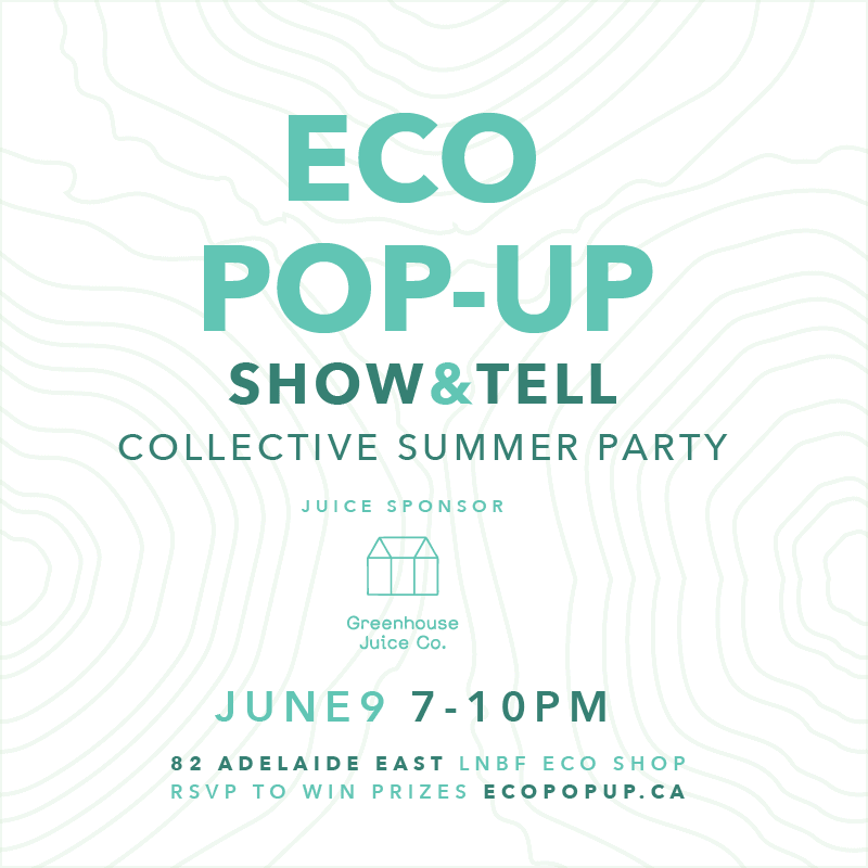 Eco Pop-Up Show & Tell  This Thursday