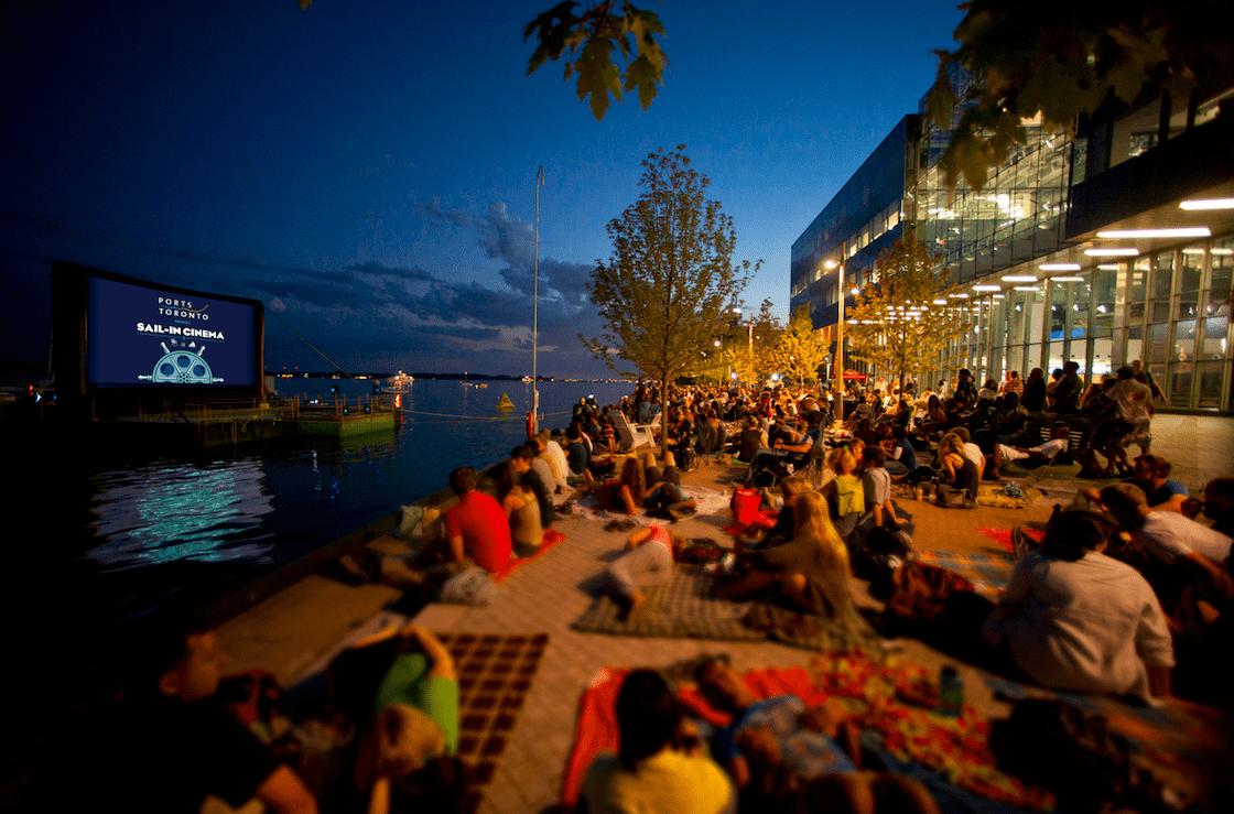 Sail-In Cinema Returns to Sugar Beach!