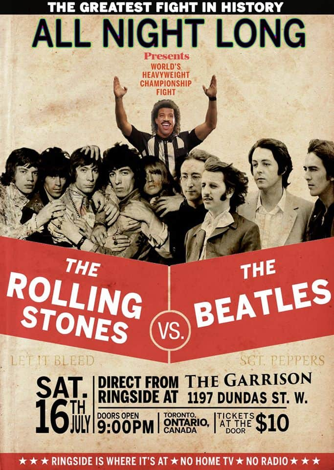 Toronto Hit List: Gone Wild, The Beatles vs. The Rolling Stones, Body Heat, Junction Night Market & more!