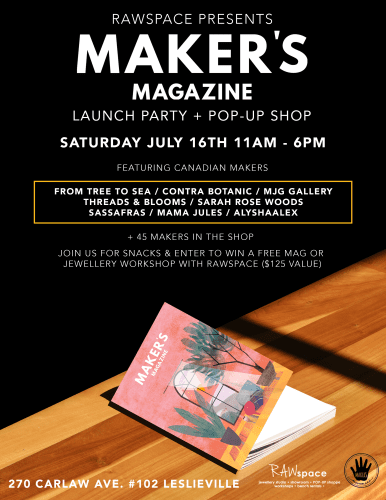 Our Pick of the Week: Maker's Magazine Launch + Pop-Up Shop