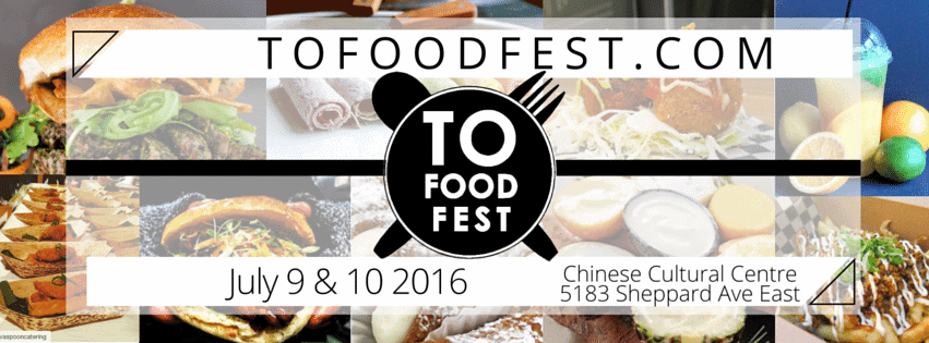 Our Pick of the Week: T.O. Food Fest