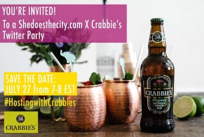 twitter party invite crabbies