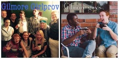 Gilmore Girlprov - Feat. Gilmore Guys Comes To Comedy Bar