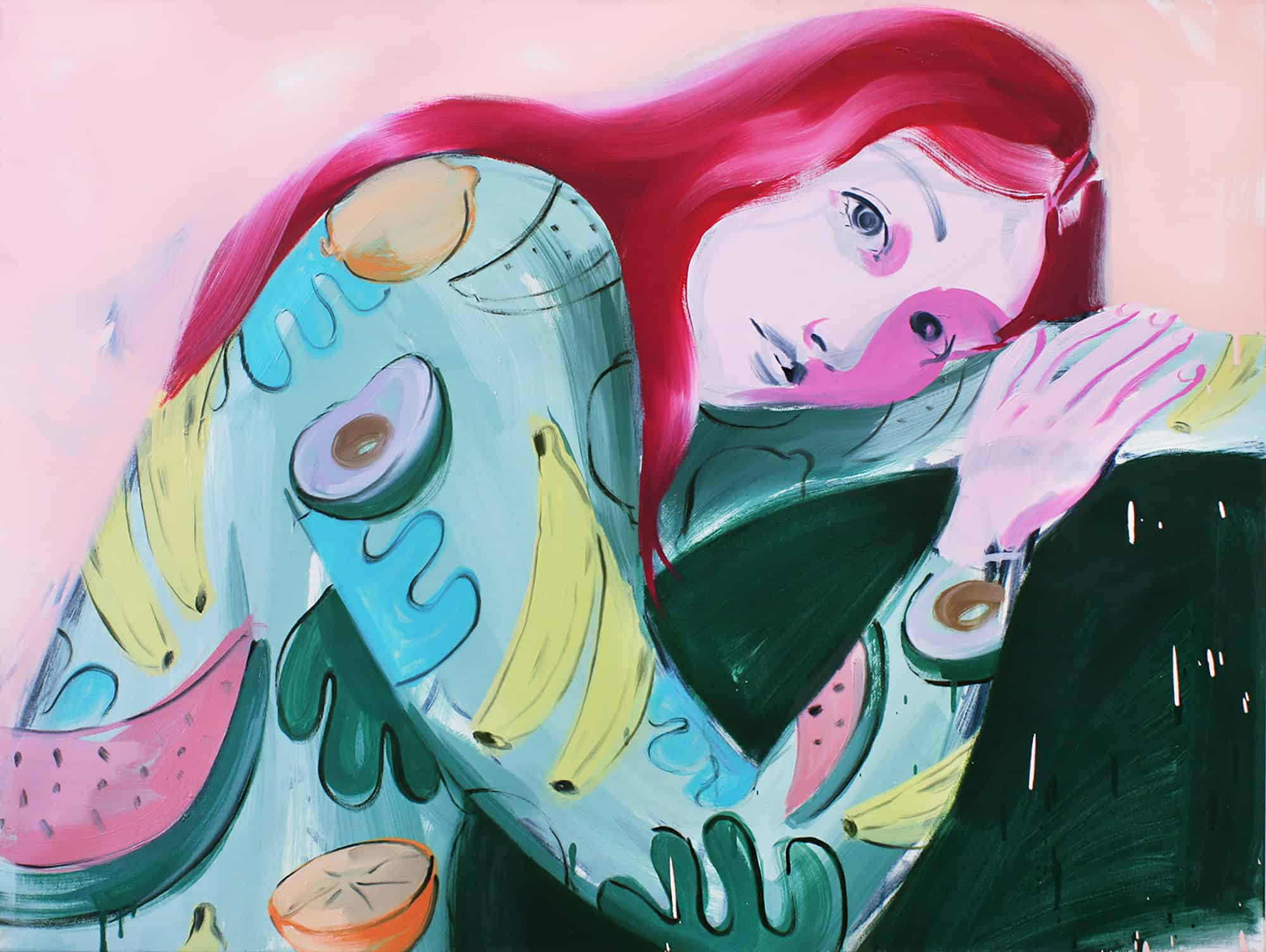 GIRLS GIRLS GIRLS - The Curious Paintings of Sarah Letovsky