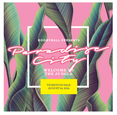 Take Me Down To Paradise City - Boobyball 15