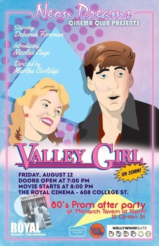 Our Pick of the Week: Neon Dreams' Valley Girl Screening & '80s Prom Dance Party