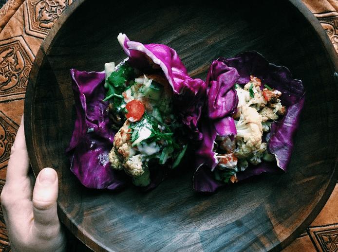 "Quick & Healthy Dinner Idea: Vegan, Gluten Free ""Falafel"" Wraps"